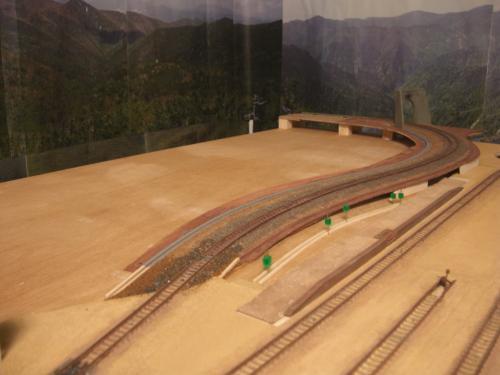 鉄道模型 ジオラマ 線路 2
