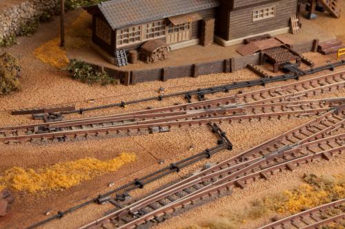 鉄道模型 ジオラマ 線路 3