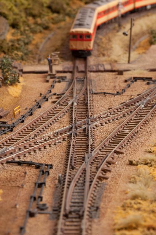 鉄道模型 ジオラマ 線路 4