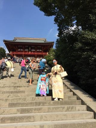 鎌倉で七五三