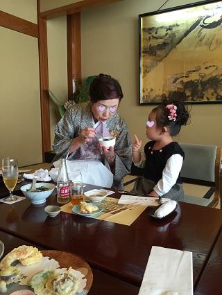 鎌倉で食事~七五三~