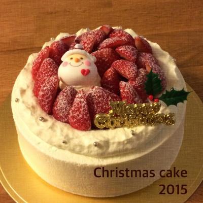 2015 Xmasデコレーションケーキ