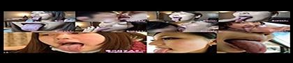 西村ニーナのエロ長い舌でたっぷり顔舐め鼻舐めバナー