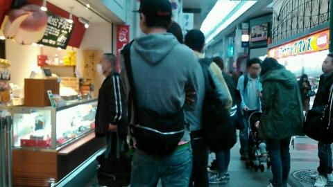 りくろーおじさんの店 なんば本店 チーズケーキ 201511 (10)