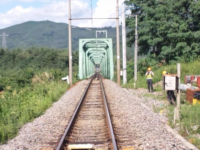 高瀬川橋梁