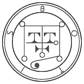 ソロモンの精霊護符 by占いとか魔術とか所蔵画像