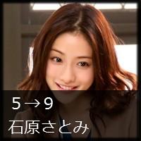 月9『5→9 私に恋したお坊さん』 石原さとみちゃんのゆるふわウェーブロングヘア