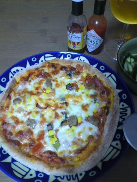 お取り寄せピザ