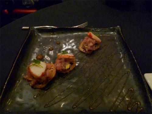 ロブスターとアボカドの前菜風サラダ