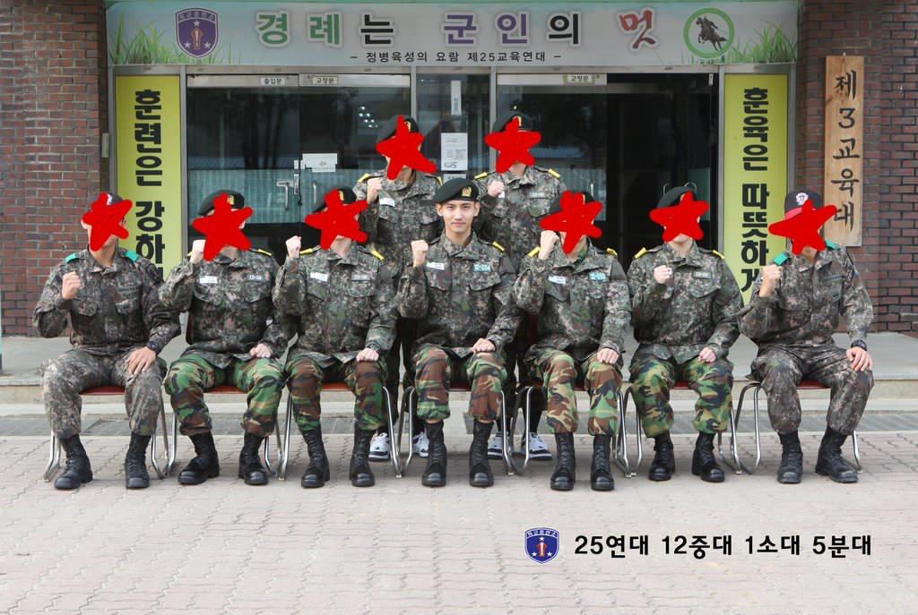 チャンミン軍隊