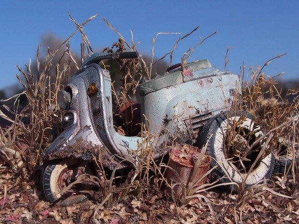 廃車ラビット