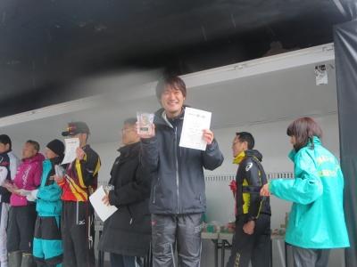 北海道ロードレース、岡田さん入賞!