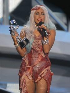 肉のドレス