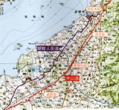 朝鮮人街道地図