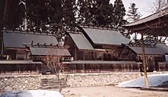 長瀧白山神社本殿