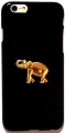 iPhone 6 Case Elephant Gold Pendant Black 24k (2)