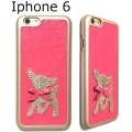 Der Bambikuss- iPhone 6 Case Bambi pink second (3)1