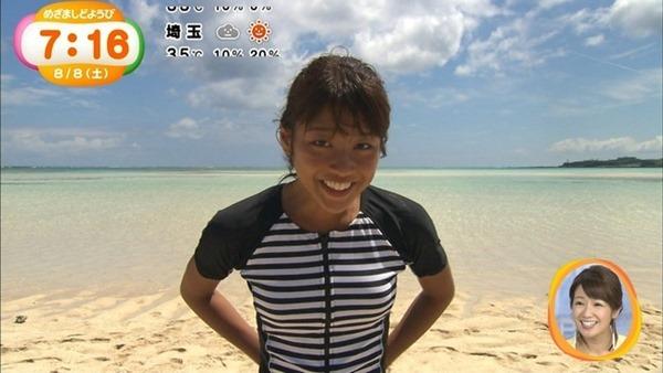 岡副麻希 水着16