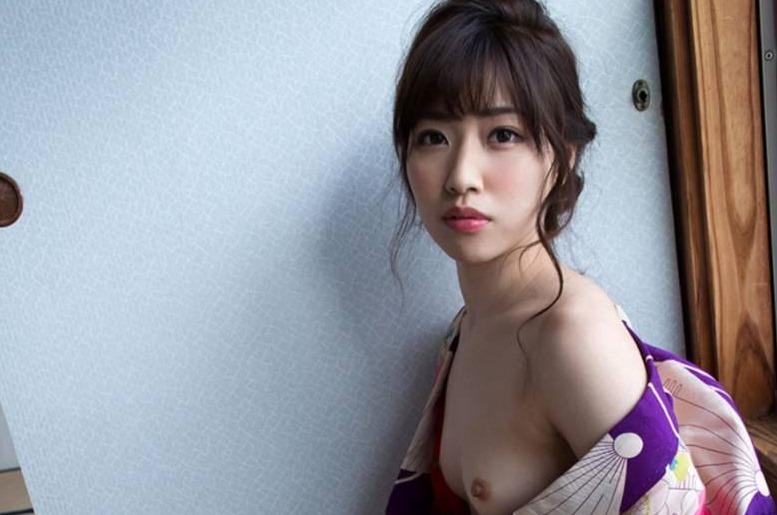 (市川まさみ(av女優)の裸ぬーど写真)自慢のお尻と清楚な美しい乳お乳に恋した☆