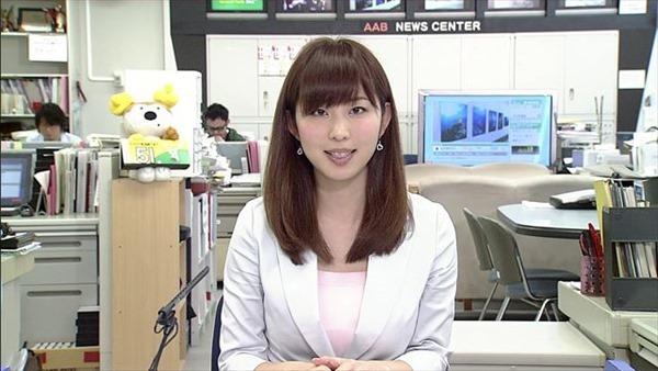 秋田が生んだ美人女子アナ塩地美澄(しおち みすみ)の着衣巨乳のテレビキャプ画像5
