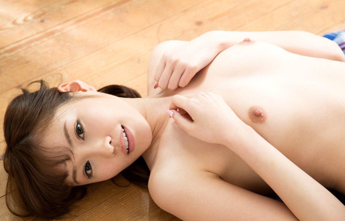 (橋本ありな天使のぬーど写真)純白キュートな美しい乳▼お股に純粋な陰毛☆