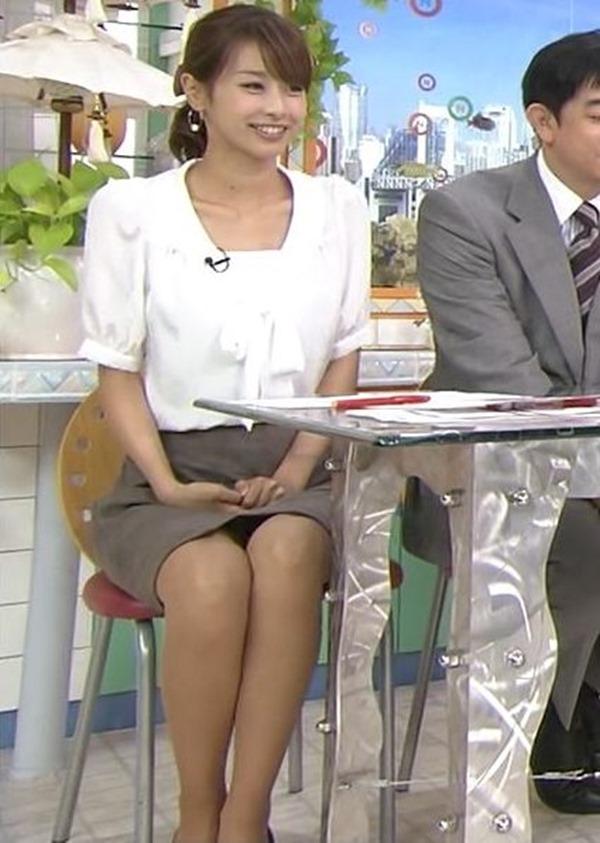 加藤綾子アナの美脚10