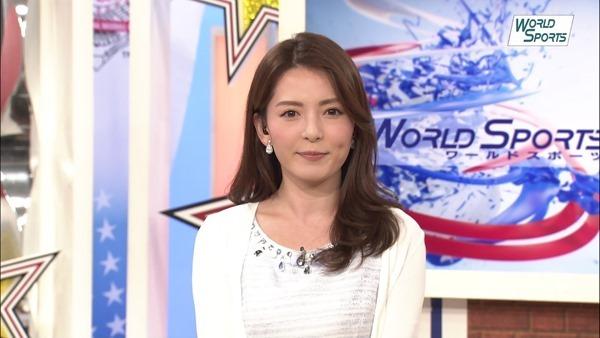 深津瑠美アナの着衣巨乳エロ画像12