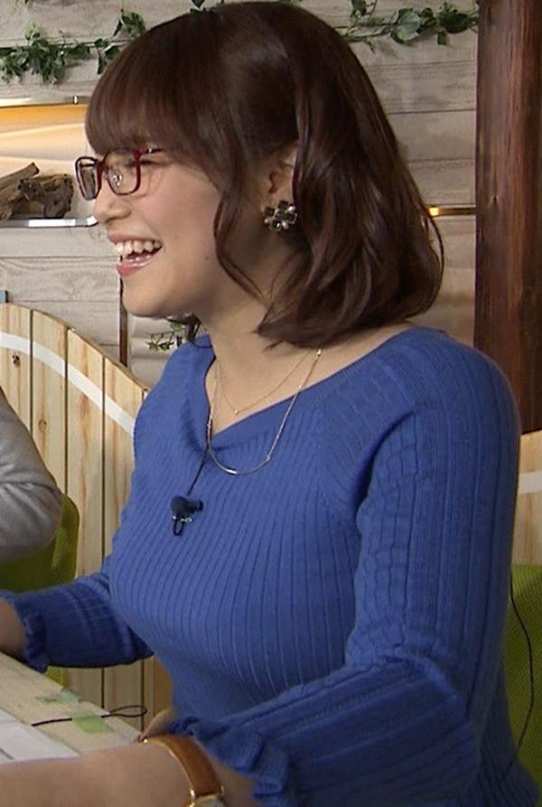 鷲見玲奈アナのむっちりしたワキ肉エロ画像13