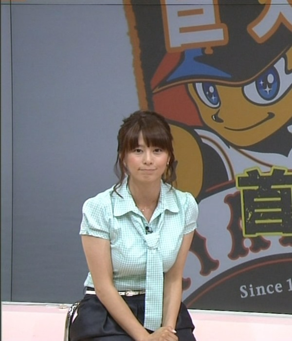 杉浦友紀アナのムッチムチ着衣エロ画像13