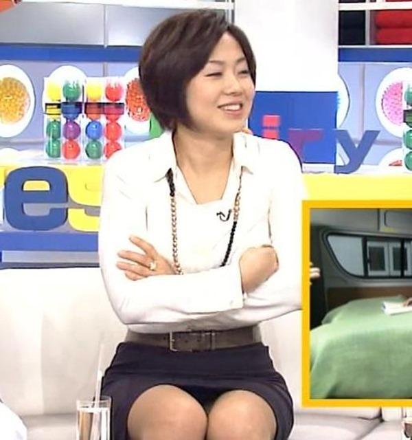 魅惑の熟女アナ有働由美子のセクシーショットエロ画像13