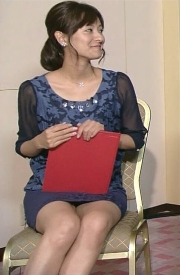 女子アナ徳島えりかアナのせくしー太ももエロ画像14