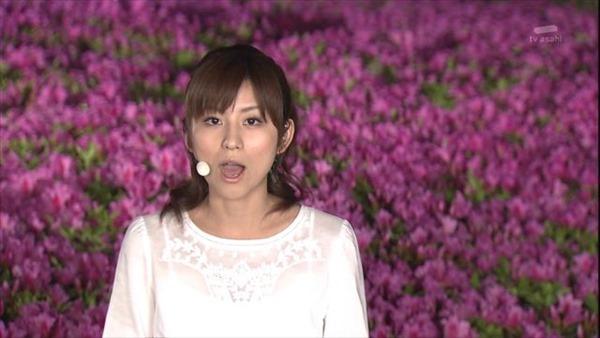 テレビ朝日の女子アナ宇賀なつみのアイドル顔負けの可愛いルックステレビキャプ画像14
