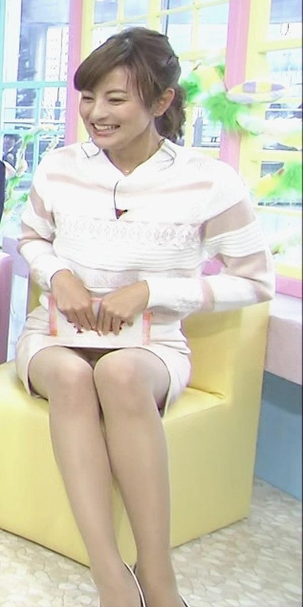 女子アナ徳島えりかアナのせくしー太ももエロ画像16