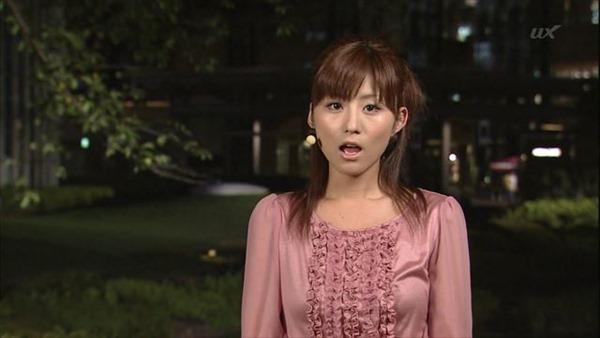テレビ朝日の女子アナ宇賀なつみのアイドル顔負けの可愛いルックステレビキャプ画像16
