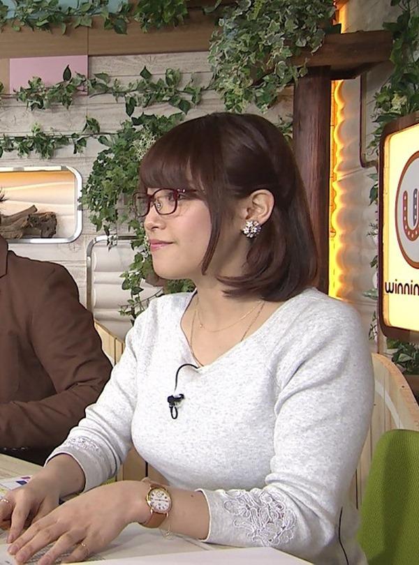 鷲見玲奈アナのむっちりしたワキ肉エロ画像17