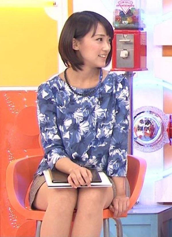 竹内由恵アナの可愛いエロ画像17