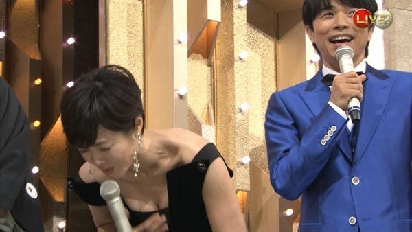 魅惑の熟女アナ有働由美子のセクシーショットエロ画像17