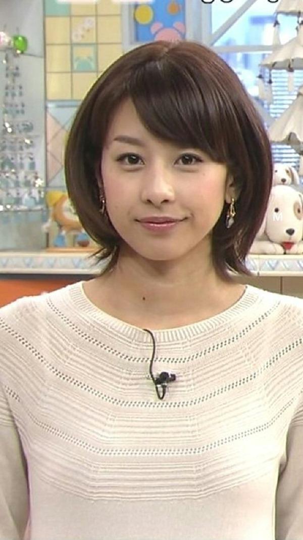 加藤綾子アナの美脚18