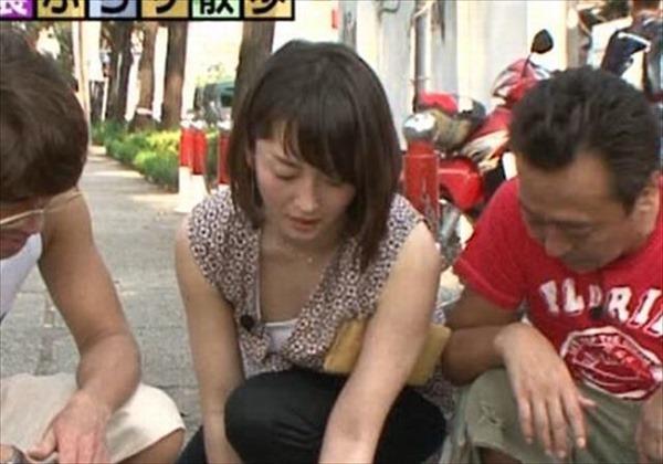 狩野恵里アナのセクシーショット画像18