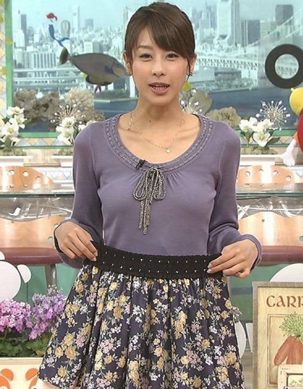 加藤綾子アナの美脚19