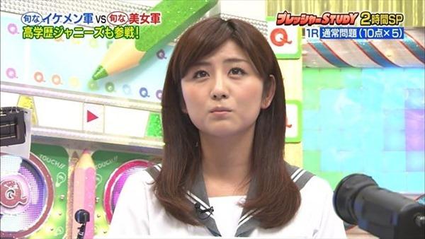 テレビ朝日の女子アナ宇賀なつみのアイドル顔負けの可愛いルックステレビキャプ画像1