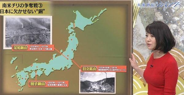 テレ東で大橋未歩アナの巨乳エロ画像20