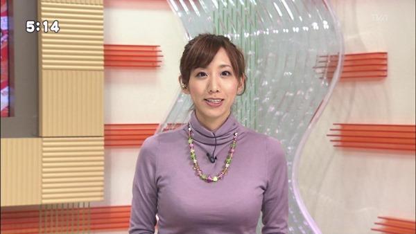 巨乳女子アナウンサーの着衣巨乳画像20