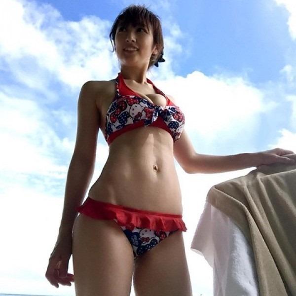 熊田曜子(34)が4年ぶりのグラビアDVDエロ画像14
