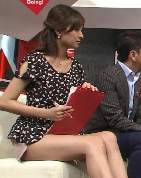 女子アナ徳島えりかアナのせくしー太ももエロ画像3