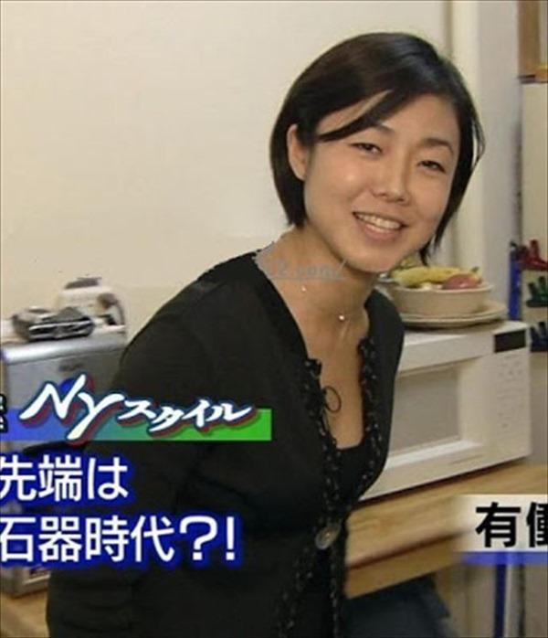魅惑の熟女アナ有働由美子のセクシーショットエロ画像3