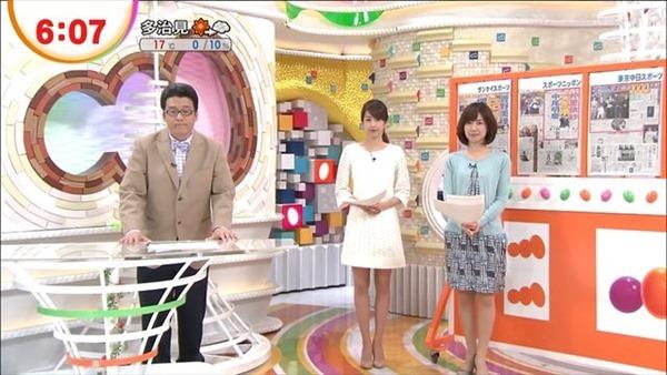 加藤綾子アナの美脚3