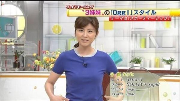 テレビ朝日の女子アナ宇賀なつみのアイドル顔負けの可愛いルックステレビキャプ画像3