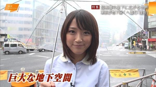 竹内由恵アナの可愛いエロ画像4
