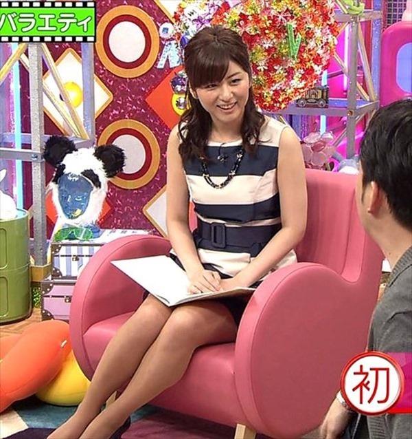テレビ朝日の女子アナ宇賀なつみのアイドル顔負けの可愛いルックステレビキャプ画像4